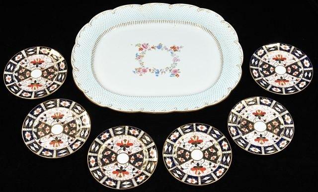 41A: A Minton Porcelain Platter,