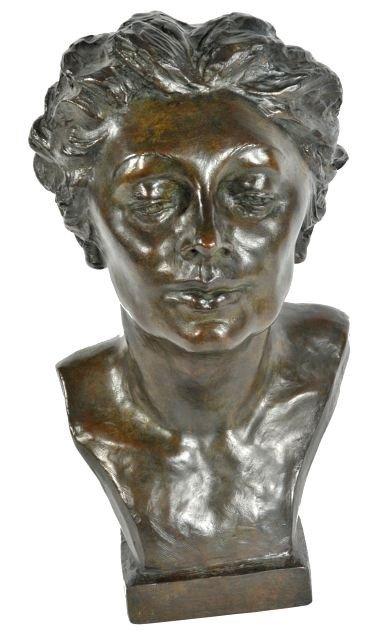 47: Malvina Cornell Hoffman (1887-1966) Bust of Kathari