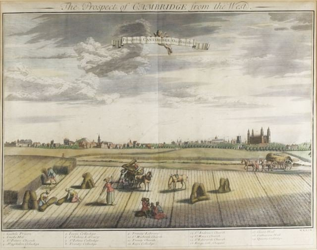 55: Johannes Kip (Dutch, 1653 - 1722) A Prospect of Cam