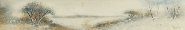 61A: Ralph Dille (American, 20th century) Lake in Lands