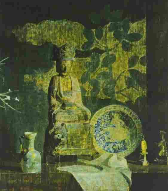 Hovsep Pushman (American 1877-1966) Still Life, Li