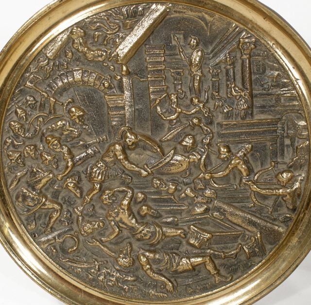 124: A Collection of Brass Decorative Items. - 4