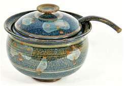 138: A Group of Contemporary Ceramic and Stoneware Serv