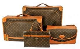 89 A Set of Vintage Louis Vuitton Luggage
