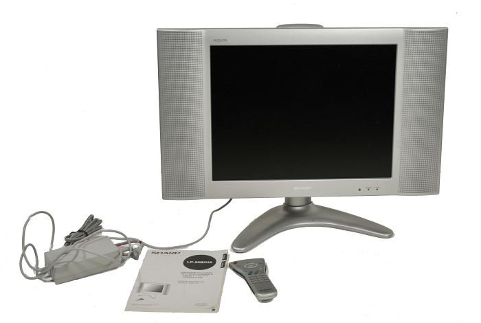 233: A Sharp Aquos 20 inch LC-20B2UA Flatscreen TV