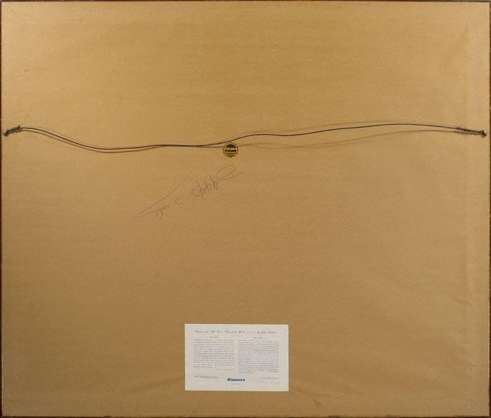 77: John Stobart (b.1929) Maiden Lane, New York in 1800 - 4
