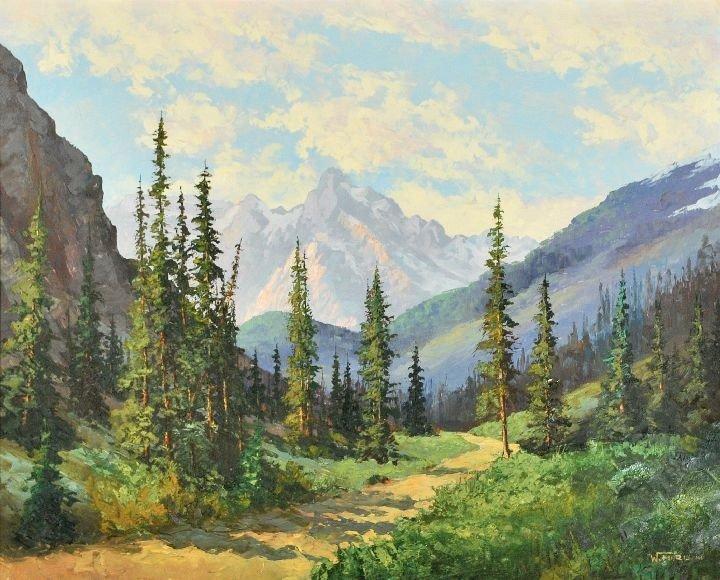 6: William Harisch (b. 1917) Road to Tween Falls Rocky