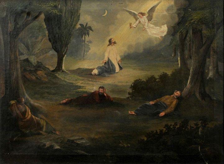 13: American School (19th Century) Garden of Gethsemane