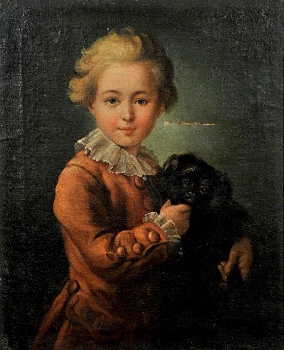 17: After Francois Hubert Drouais (1727-1775) Portrait