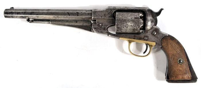 176: A Remington 1858 Percussion Revolver,