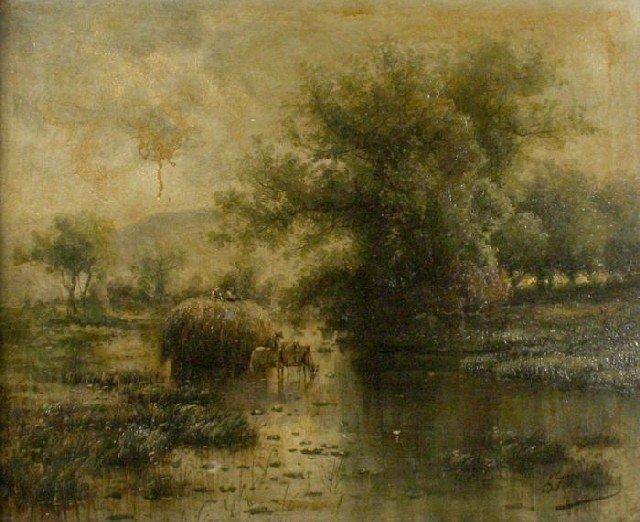 5: Gustave F. Stahnke (19th/20th Century) Landscape