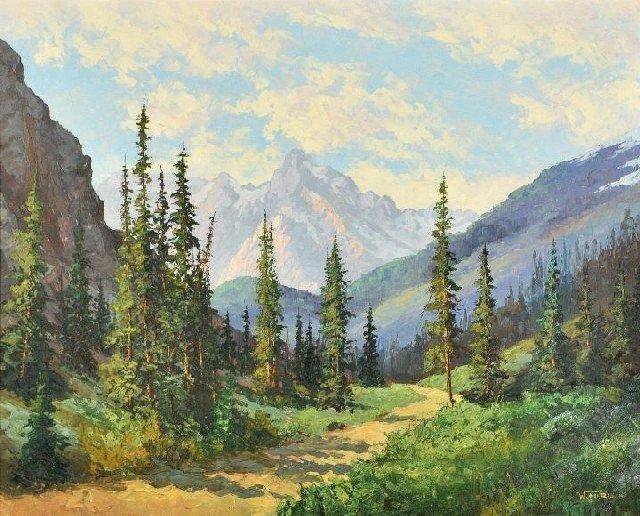 7A: William Harisch (b. 1917) Road to Tween Falls
