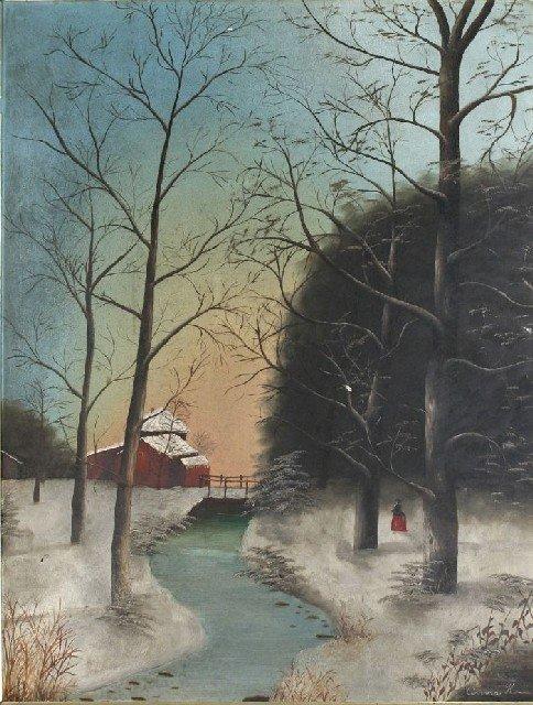 13: Anna H (American, 19th Century) White River Scene