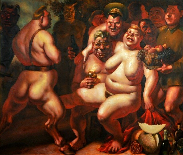 43: Vasily Shulzhenko (b.1949) Bacchanal