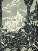 99: Hans Alexander Mueller (1888-1963) Don Quixote