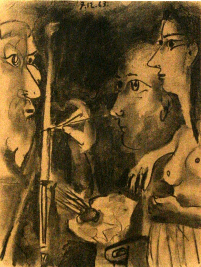 19: A Special Edition Mourlot/ Picasso Lithograph,