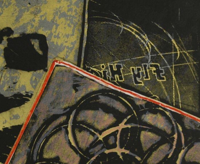 24: Frank Stella (b.1936) Yellow Journal, 1982, Offset  - 4