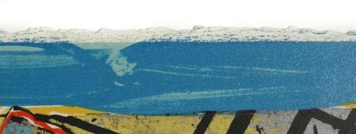 24: Frank Stella (b.1936) Yellow Journal, 1982, Offset  - 5