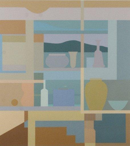 77A: Janet Sorokin (b.1932) From Summer West, 1983, Sil