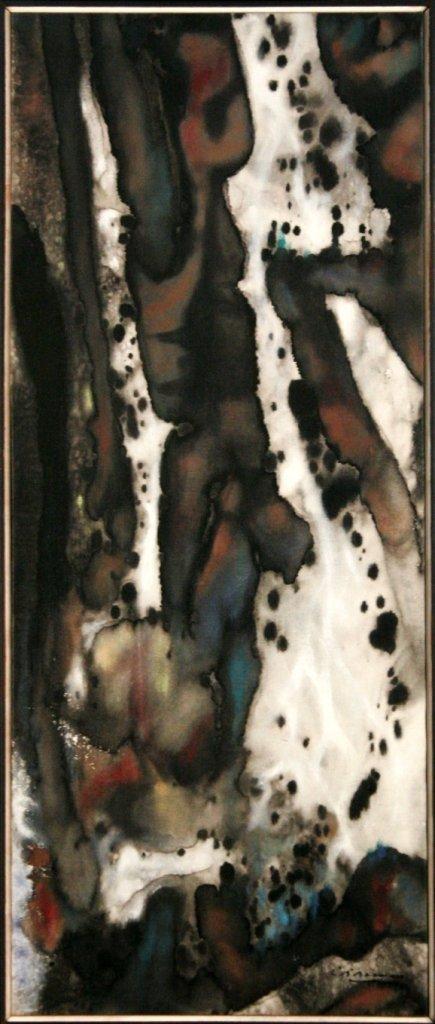 80: Richard Bancroft Beaman (1909-2003) Cascade, 1962,