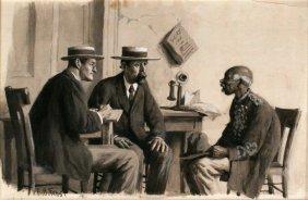 Arthur Burdett Frost (1851 - 1928) Told 'Em I Was A