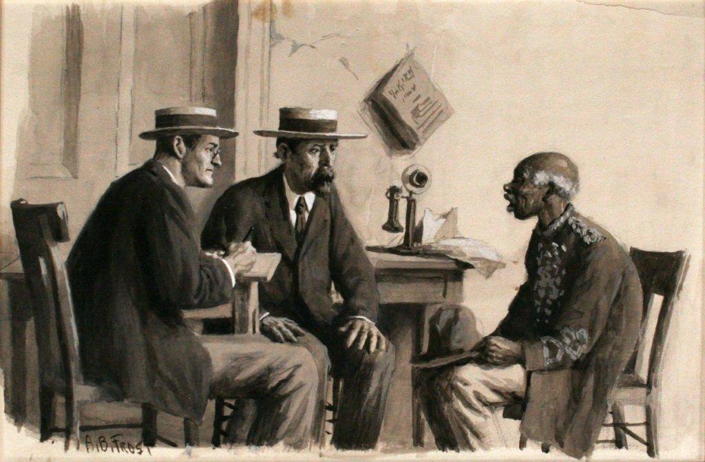 83: Arthur Burdett Frost (1851 - 1928) Told 'Em I Was A
