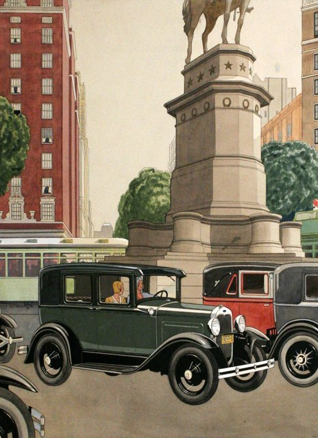90: N. W. Ayer and Son (20th Century) 1930 Ford Model A