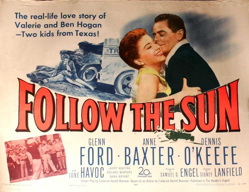 97: An Original Vintage Movie Poster for 'Follow the Su