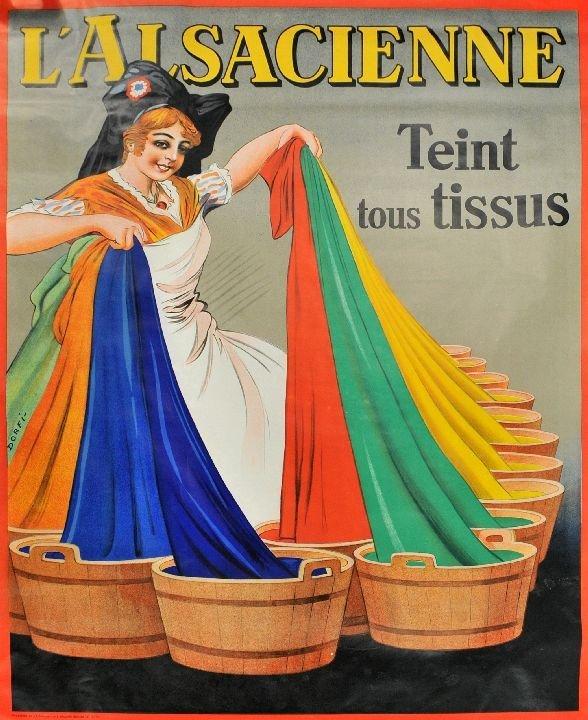 98: Dorfi (Albert Dorfinant) (1881-1976) L' Al Sacienne