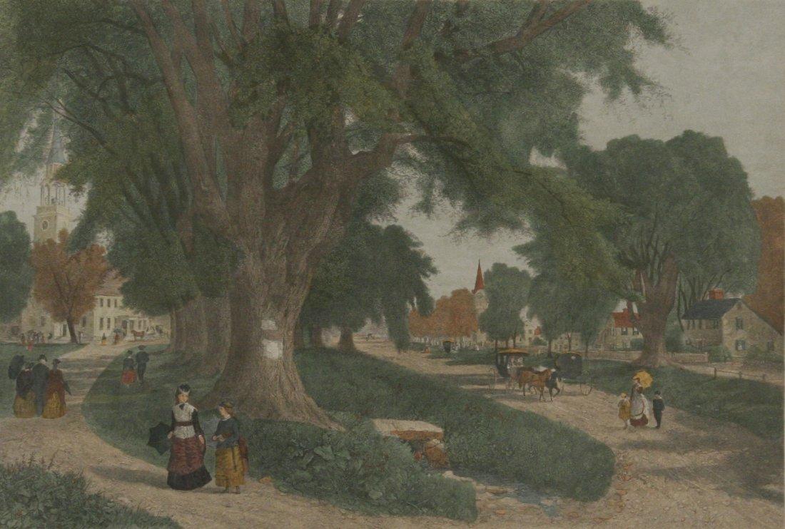 105: Artist Unknown (20th Century) The Village Elms, Co