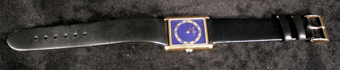 130: A Baume & Mercier 18kt. Yellow Gold Mens Watch wit