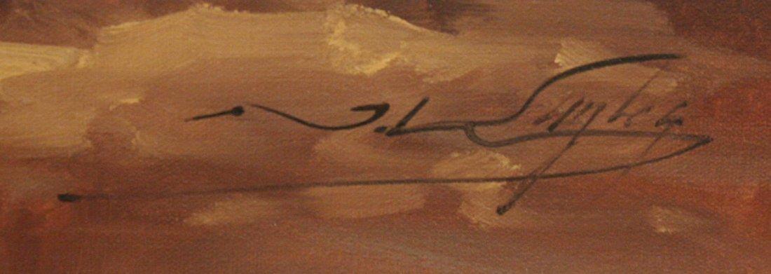260: Josef Kugler (b.1913) Forest Scene, Oil on canvas, - 3