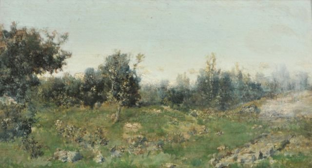 10: Martin Rico Y Ortega (1833-1908) Landscape, Oil on