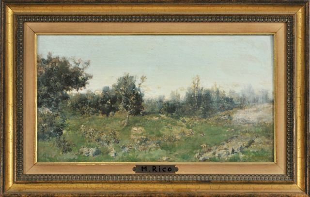 10: Martin Rico Y Ortega (1833-1908) Landscape, Oil on - 2