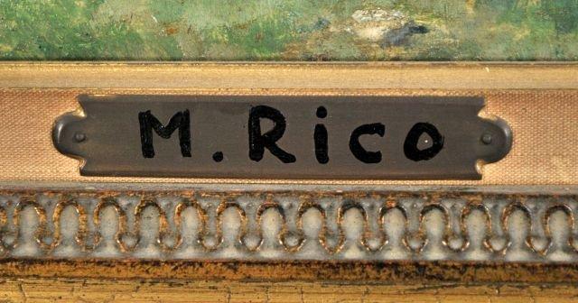 10: Martin Rico Y Ortega (1833-1908) Landscape, Oil on - 3