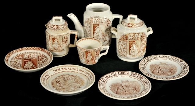 222: A Group of English Transfer Printed Pottery Includ
