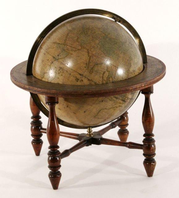 233: A Josiah Loring (1775-1840) Terrestrial Globe,