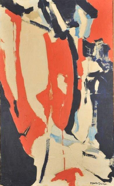 """11: Nathan """"Nate"""" Dunn (1896-1983) Red, White & Blue, 1"""