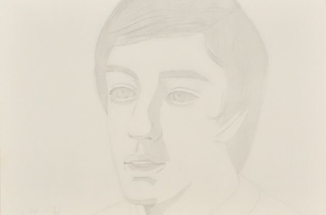 19: Alex Katz (b.1927) Vincent with Open Mouth, 1974, A