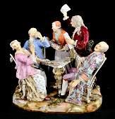 204 A Large Meissen Porcelain Figural Group