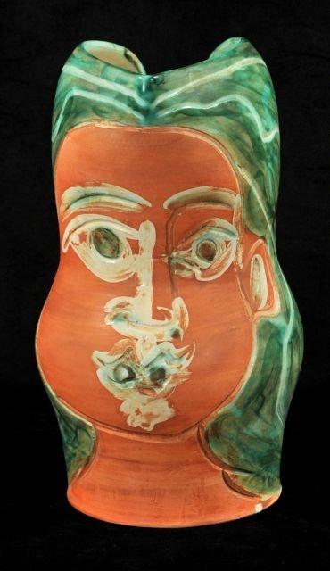 206: Pablo Picasso (1881-1973) Visage de Femme (A.R. 19