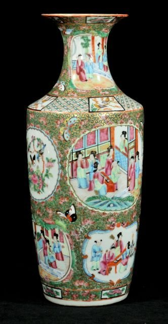 221: A Chinese Famille Rose Porcelain Vase, Early 20th