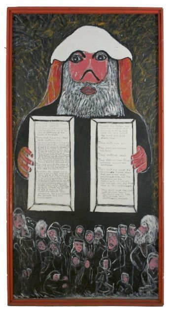 1: Reverend Albert Wagner (1924 - 2006) Moses and the T