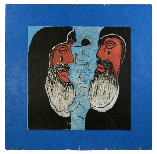 6: Reverend Albert Wagner (1924 - 2006) Abraham and Lot