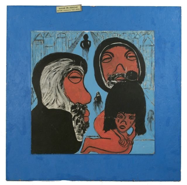 7: Reverend Albert Wagner (1924 - 2006) Rahab in Jerich