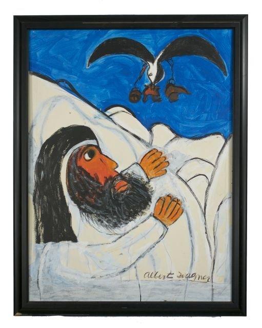 22: Reverend Albert Wagner (1924 - 2006) The Raven Feed