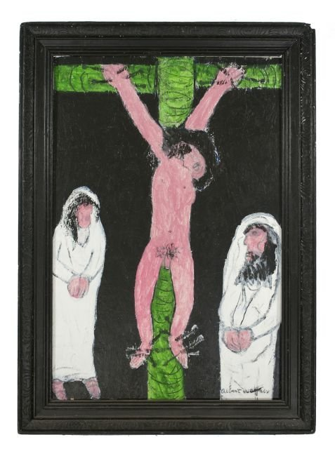 30: Reverend Albert Wagner (1924 - 2006) Crucifixion,