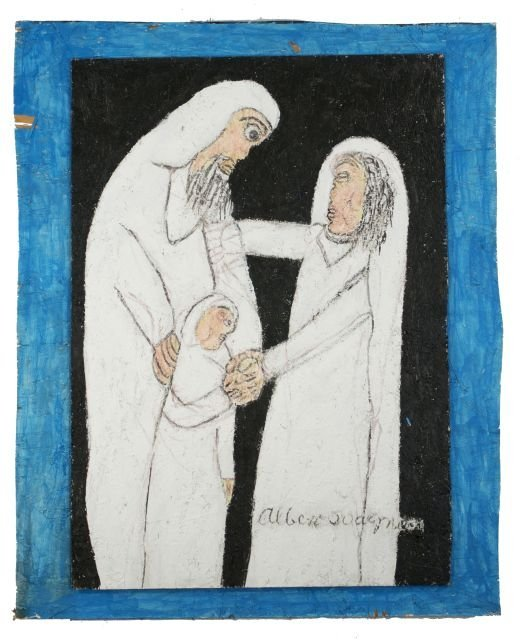 38: Reverend Albert Wagner (1924 - 2006) Mary, Joseph,
