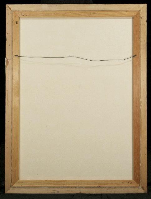 5: Roy Ahlgren (1927-2011) Window on the Past, Acrylic  - 5