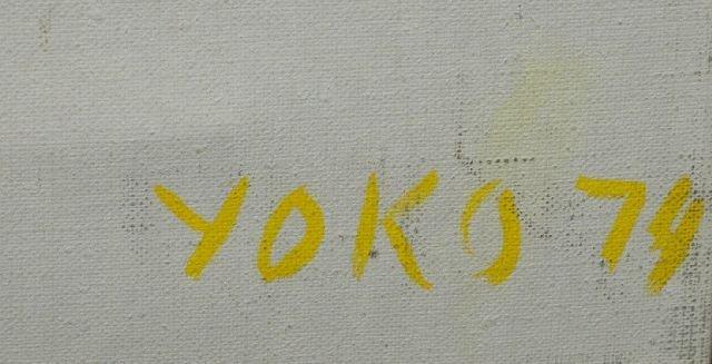 8: James Yoko (1916-2004) Clusters, Oil on canvas, - 4